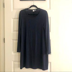 Gap Navy LS Jersey Dress